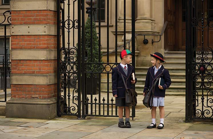 Wealth. Affluential schools. Harrow School. Eton College